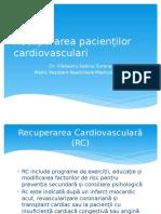 Recuperarea pacienților cardiovasculari