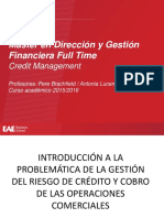 MDGF Full Time Credit Management Oct 2015 Slides Curso 2015 2016
