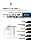 Inverter FR-HC2 Instruction Manual
