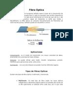 Investigador Fibra y UTP (tipos y categorías)