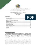 De Crimenes, Imposturas y Poderes, Por Darío Botero Pérez