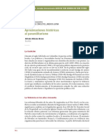 MOLANO, Alfredo. Aproximaciones Históricas Al Paramilitarismo