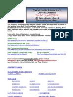 Mental Health Bulletin No. 247 April 5th 2010