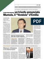 """31.04.10 Mumolo, il """"Vendola"""" d'Emilia"""