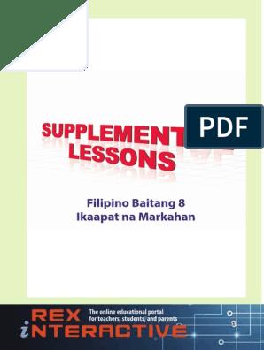 Supplemental Filipino High School Grade 8 4rth Q pdf
