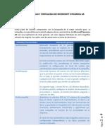 Características y Fortalezas de Microsoft Dynamics AX