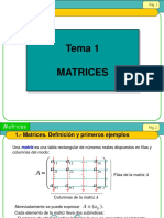Clases de Matrices (2015)