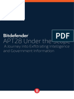 Bitdefender in-Depth Analysis of APT28–the Political Cyber-Espionage
