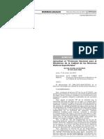 Protocolo Nacional para el Monitoreo de la Calidad de los Recursos Hídricos Superficiales