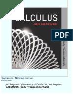 Rogawski Calculus