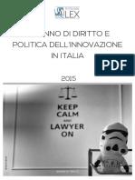 Un anno di diritto e politica dell'innovazione - 2015
