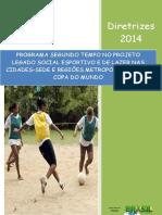 Diretrizes PST - Legado 2014