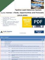 Global Water Pipeline Leak Detection System (LDS) Market