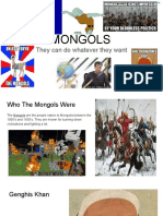 mongols the blue project