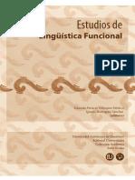 Estudios de Lingüística Funcional, Universidad Autónoma de Querétaro (2015)
