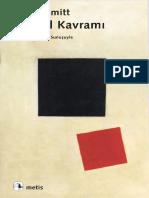 Göztepe-Çelebi, Ece_ Schmitt, Carl-Siyasal Kavramı _ Önsöz, 1932 Tarihli Metin ve Üç Değerlendirme-Metis Yayınları (2006)