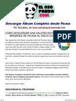 Tutorial Descargar Album Desde Picasa - JPR504