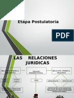 LA  ETAPA  POSTULATORIA  DEL PROCESO 4ta semana (2) 5 semana.ppt