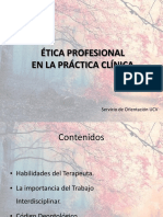 Ética Profesional en la Práctica Clínica (15.16)