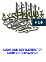 Audit & Settlement of Audit Objections (mr.ifftikhar ahmed).ppt