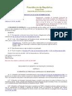 Decreto Nº 6.214, De 26 de Setembro de 2007