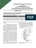 Coluna de Destilação - LEQ III