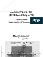 Disain Amplifier RF