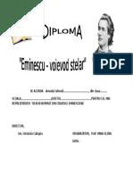 Diploma Desen
