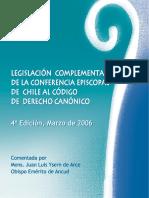 Legislación complementaria CECh