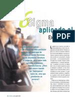 6 Sigma Aplicado Al Sector Servicios. Experiencia en Un Call Center.2004