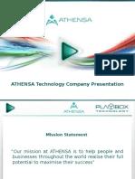 ATHENSA-Product Presentation 01 2016