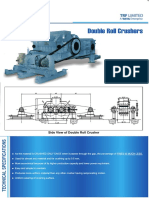 Double Roller Crusher Design by TATA