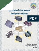Iron Potential of Ethiopia