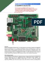 Board Chu Dev Kit 8000