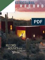 04. Architectural Record - April 2005