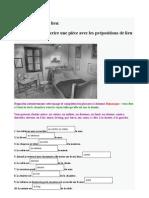 Preposition Lieu
