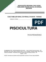 Ficha Pedagógica - Piscicultura - Pr