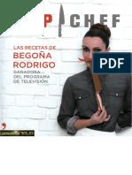 TTop Chef Las Recetas de Begoña Rodrigo