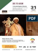 ETHIOPIA - ADDIS TO AXUM
