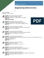 Calvi List of Papers