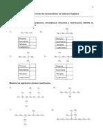 Guia de Ejercicios de Nomenclatura en Quimica Organica