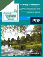 Valuing Ecosystems - Executive Summary 2012