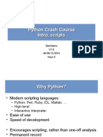 Python Lectures 1