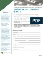 2016 Commercial Lighting