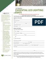 2016 Residential LED Lighting