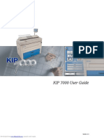 User manual KIP7000