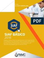 Siaf Básico - Curso virtual 2016
