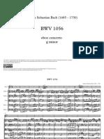 BAch Concerto Oboe