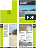 Tipos de Deteriorio en Pavimentos de Concreto