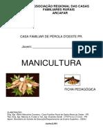 Ficha Pedagógica - Manicultura - Pa